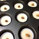 Choco cashew cups