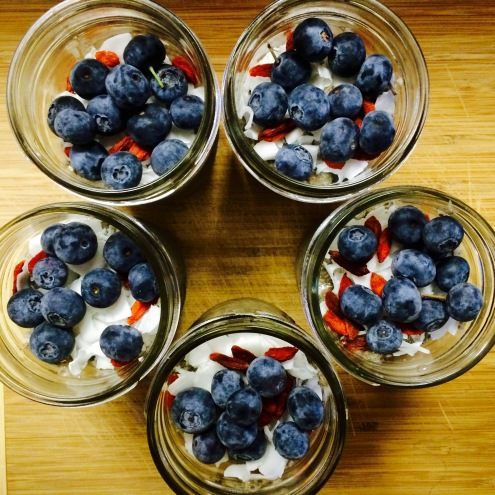 Coconut Chia Seed Puddings