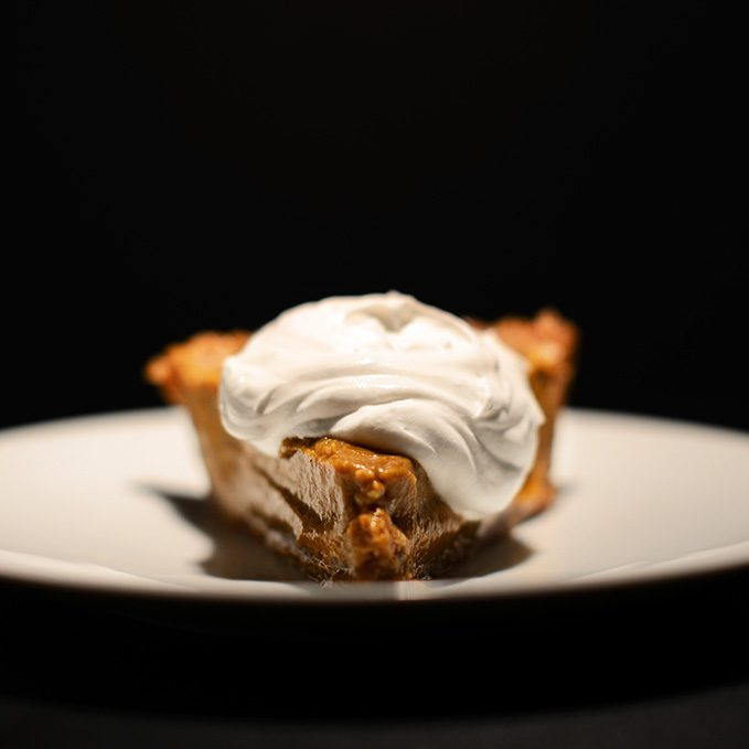 Vegan Pumpkin Pie, photo courtesy of Minimalist Baker